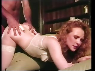 Hairy Redhead Bride Flame Gets Assed