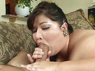 Pretty Asian BBW Gets Fucked