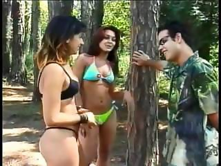 Amazing aroused bisexual suck and fuck part1