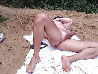 beach masturbation