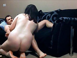 amateur bbw sofa fuck big tits pt1