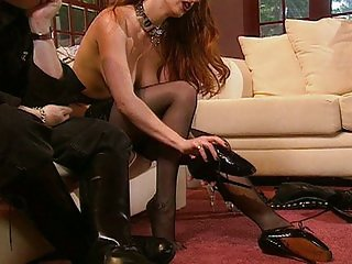Heels and boots is what i like