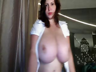 Milla Oiled Massive Tits
