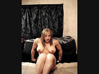 Muscle Chick Dildo Fat Pussy
