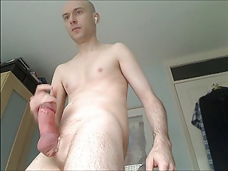 Very fat cock with big head