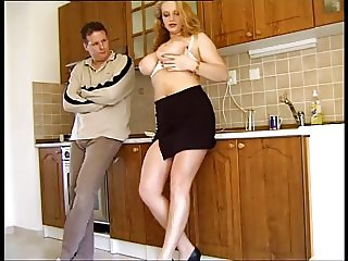Busty Kitchen Fuck