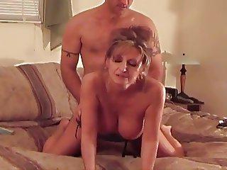 Hot Busty Mature Cougar Smoking Sex