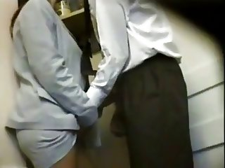baise au bureau