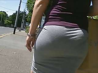 That can Gifs porn office ass skirt