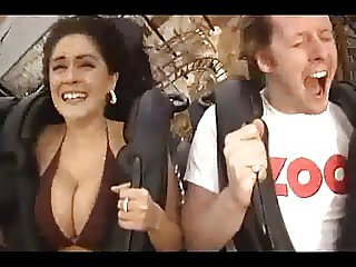 Big Boobs in the Rollercoaster