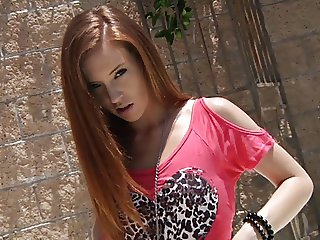 Adorable Skinny Redhead Teen Hardcore Fuck