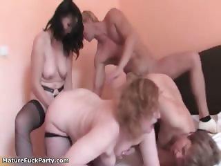 Nasty mature women go crazy getting part4