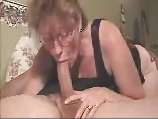 mature aunt suck young cock