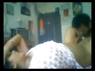 Skinny Indian Guy Fucking His Wife