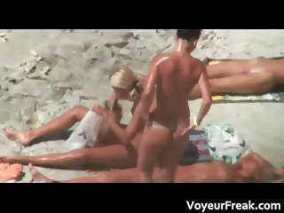 A bunch of hot nude girls voyeur video part3
