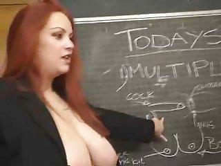 big tit lesbian teacher