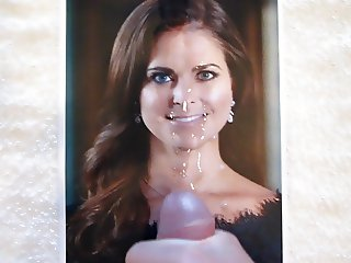 Cum on Swedish Princess Madeleine Tribute