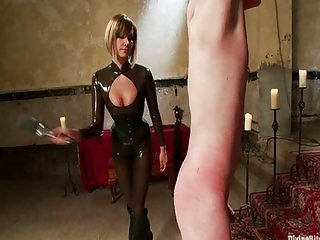 Maitresse Madelinne and Zack Divine bitches