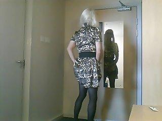 cumming in my pantyhose