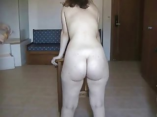Whipping Phat ass PAWG
