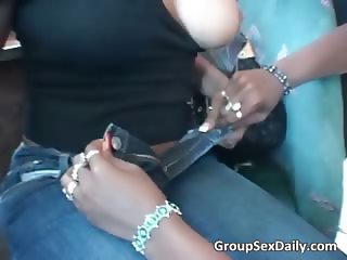 Ebony slut get their big buts part3