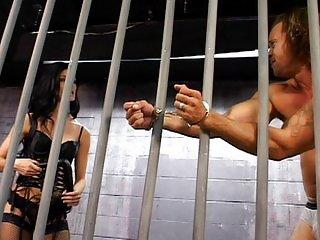 Leah Wilde is a tough prison warden