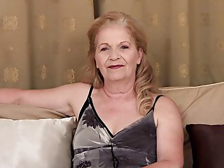 Granny Interview and Masturbation