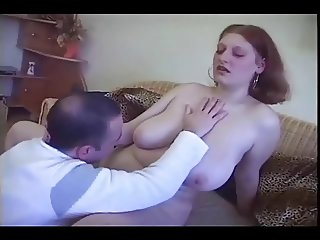 Horny Fat Chubby Maid love sucking and riding Cock