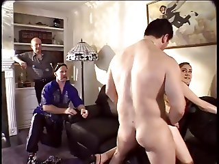 Husband watches wife suck another man 039 s Dick