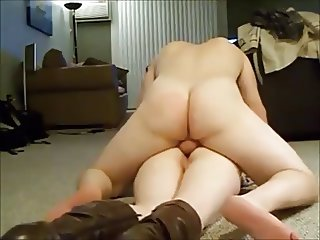 booty milf screaming while getting anal on homemade