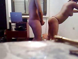 latina amateur fucking at home