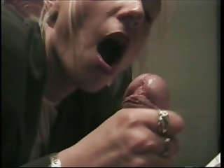 German short 2 Jerking off a huge cock