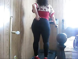 bbw workout in heels