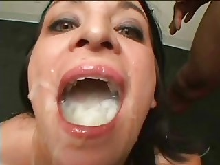 MOUTHS OF CUM Skye Lee