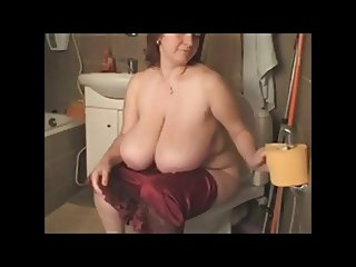 BBW Milf Redhead with Huge Boobs 2