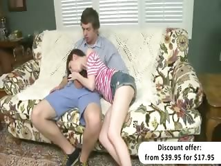 Cougar Alexandra Silk teaches teencouple