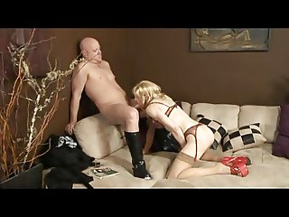 Brittany tgirl Sucking and Loving It All