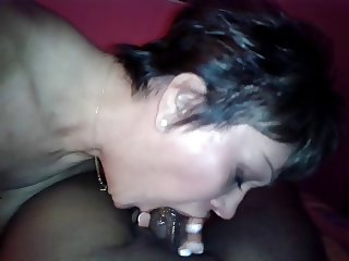 Blowjob on black cock dominican not cum