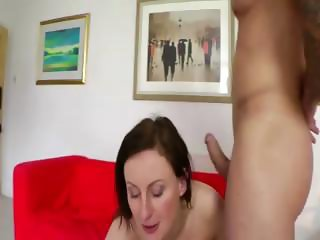 Mature british lady in pantyhose fucked and jizzed