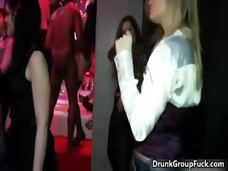 Hot drunk brunette with nice boobs jerks part2