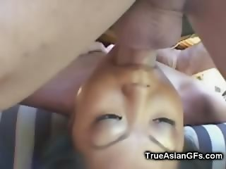Asian Blowing and Ass Fucking