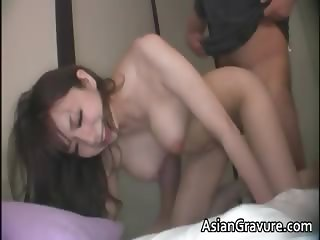 Awesome brunette asian hoe with great part1
