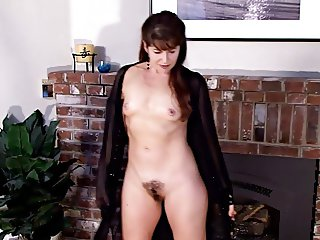 Slender Mature Lady with Hairy Pussy p. 1