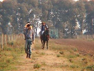 Gay cowboys outdoor sex