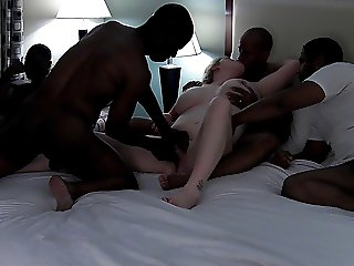 Warming up for a Gangbang