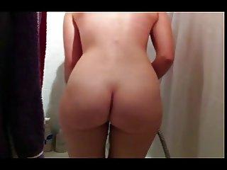 Jasmin Bretzigheimer takes a shower Nice Ass