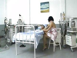 Hot Aliz gangbang in hospital