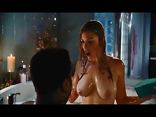 Jessica Pare Great Tits in Topless Movie Scene