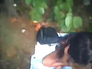 Having fun outdoor with horny indian teen. Amateur