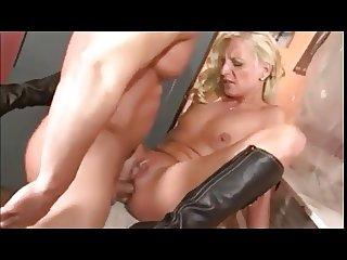 Blonde German Mature Well Fucked